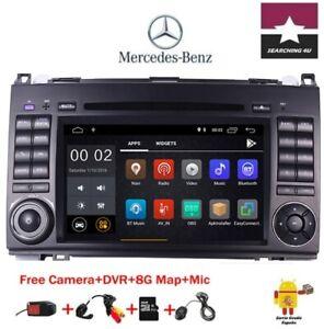 """DVD GPS 7"""" MERCEDES BENZ B200 W169 VIANO VITO ANDROID 9 2GB RAM RDS. DE ESPAÑA"""