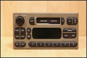 RADIO / CASSETTE STEREO HEAD UNIT (SABLE FACIA) Jaguar S-Type 1999-2002