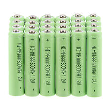 24PCS AAA 1.2 V 600mAh NI-MH Rechargeable Battery for Toys