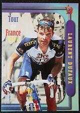 Tour de France Festina-Lotus Dufaux acción Foto Tarjeta en muy buena condición