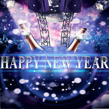 Happy New Year 10'x10' CP Backdrop Computer printed Scenic Background XLX-203
