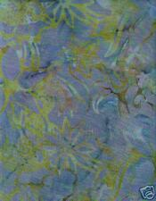 Timeless Treasures Batik # B7709 Green QUILT FABRIC