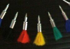 FINALLY! AIR GUN DARTS in Colors .22 caliber You get ten (10) for Crosman etc.