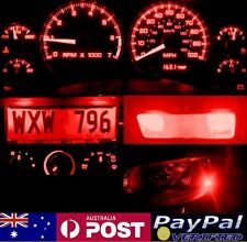 Red Full LED Conversion Kit (dash HVAC Parkers Roof) Honda Civic '96-'98 EK EJ