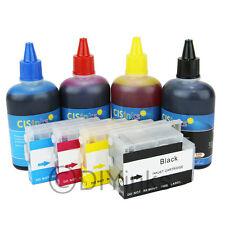 Refillable Ink Cartridge KIT For HP 932/933 Officejet Pro 6100 6600 7612