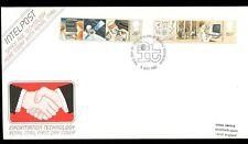 GB FDC 1982 Information Technology, Philatelic Bureau H/S #C5130