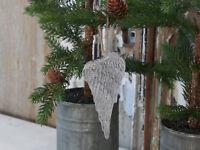 Chic Antique Flügel Engelsflügel Christmas  Weihnachten Shabby Vintage Landhaus