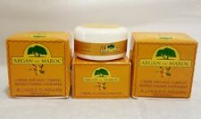 3 X Argan Du Maroc 100ml Moisturising and Anti Aging Argan Oil Face Cream