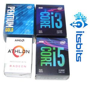 INTEL LGA1200 GEN10 i3 i5 LGA1151 i3 i5 Gen 8 & 9 CELERON PENTIUM AMD AM4 RYZEN
