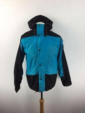VINTAGE The North Face USA Da Uomo Gore Tex Giacca Cappotto S SMALL BLU NERO