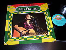 "Various ""Folk Festival"" LP TIMEWIND GERMANY"