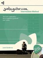 The Justinguitar.com Intermediate Method (Book & 2 Cds) by Justin Sandercoe, NEW