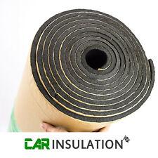 6mm Black Closed Cell Foam Self Adhesive Roll High Quality Waterproof Sound Van