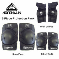 Adrenalin Skate Protection Pads Size ADULT 6 Piece Set Elbows Knee Wrist Guards