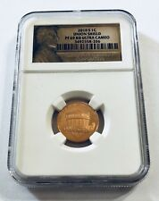 2010 S 1C UNION SHIED NGC PF69 RD ULTRA CAMEO 1 CENT Penny