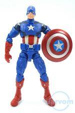 "Marvel Legends 6"" Inch Walmart Exclusive Avengers Captain America Loose Complete"