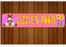 Personalised Children's Door Plaque Kids Bedroom  Girls & Boys Name Plaques