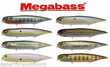 "Megabass Dog-X Diamante Silent Topwater Bait 4 3/4"" Japanese Fishing Lure"