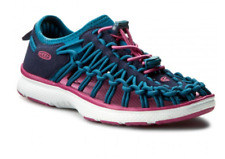 Keen Uneek O2 Youth Boys Girls Big Kids Hiking Water Sandal Shoes Blue Sz 1 Y