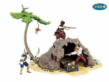 PIRATE TREASURE ISLAND  PAPO FOR FIGURINES +-12CM NOT INCLUDED (SCHLEICH)