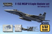 Wolfpack 1:32 F-15C MSIP II Mod Eagle Update Set for Tamiya - Resin #WP32025