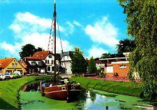 Papenburg - Ems , Hauptkanal , Ansichtskarte, 1984 gelaufen