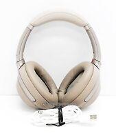 Sony WH-1000XM3 Wireless Noise Cancelling Headphones Beige