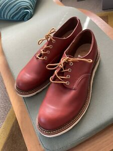 New Red Wing Oxford 8001 Oro Russet Sz 12