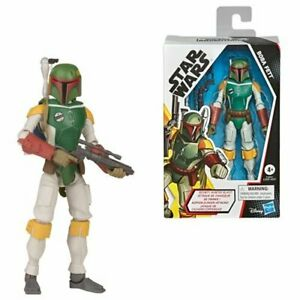 FREE SHIPPING! Star Wars Galaxy of Adventures Boba Fett 5-Inch Action Figure