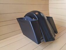 "HARLEY DAVIDSON 4""STRETCHED SADDLEBAGS AND OVERLAY REAR FENDER FOR FL SOFTAILS"