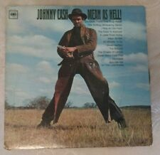 "Johnny Cash  ""Mean As Hell!""   MONO   Columbia Original      1965"