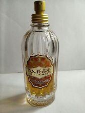 AMBRE AMBER von  L'OCCITANE EDT Flakon mit 40 von 75 ml plus TZ & Proben