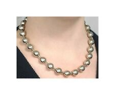 """12mm #30 BALL CHAIN NECKLACE ~GOTH STYLE SILVER STEEL 1/2"""" BEADS  Pick 14"""" - 36"""""""