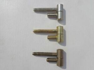 12 Stück TÜRBÄNDER Scharniere 16mm für Stahlzargen