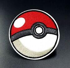1 Écusson Brodé Thermocollant NEUF ( Patch ) - Pokémon Poké Ball Pokéball