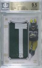 2015 Topps Definitive Collection Nameplate 1/1 Ty Montgomery BGS 9.5 Rookie