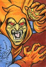 Marvel Masterpieces 2016 Sketch Card - RANDY MARTINEZ - HOBGOBLIN