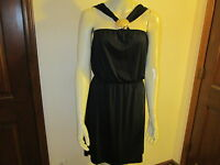 Mud Pie Fanshell Black Dress, Size Medium (8-10), NWT