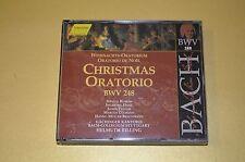 Bach - Christmas Oratorio BWV248 / Helmuth Rilling / Hänssler / 3CD Box / Rar