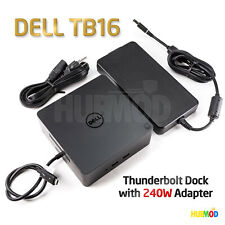 Genuine DELL Thunderbolt Docking Station TB16 240W PA-9E AC Adapter Power Supply