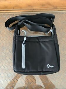 Lowepro StreamLine 100 Shoulder Bag - Black Camera Gear
