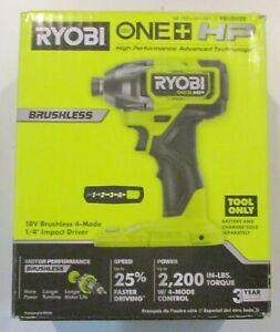 Ryobi ONE+ HP (PBLID02B) - 18V Cordless Brushless (Tool Only) BRAND NEW SEALED