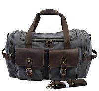 Travel Canvas Journey Sports Luggage Shoulder Overnight Weekend Duffel Gym Bag