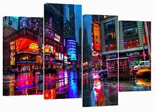 "New York/Times square/set of 4 new canvas prints/ 32""x 20"""