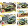 "ZVEZDA Model Kits ""Soviet Tanks & Armored Forces & Snap Fit 1943-45 WWII"""