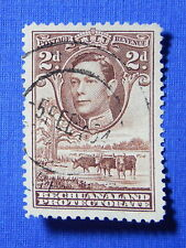 1938 BECHUANALAND PROTECTORATE 2d SCOTT# 127 S.G.# 121 USED          CS20552