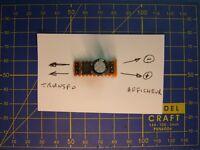 Mini filtre redresseur 1A tension continu 12/14 V DC/AC/DC transfo JOUEF HO