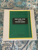 John Deere 300D 410D JD410D 510D Backhoe Loader Service Repair Manual TM1513