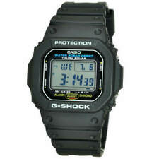 Casio G-SHOCK 47mm Black Resin Case and Band, Men's Watch (G-5600E-1)