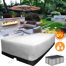 AU 10 Seater 350x260x90cm Furniture Waterproor Cover Outdoor Dust UV Protection